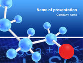 Technology and Science: Molecular Skeleton PowerPoint Template #02833