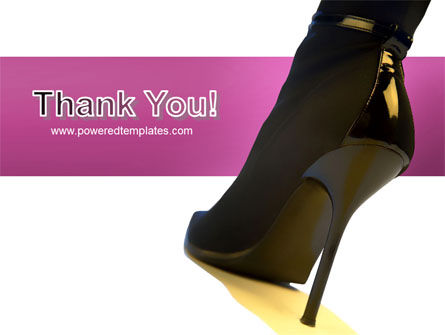 Female Fashion Shoes PowerPoint Template Slide 20