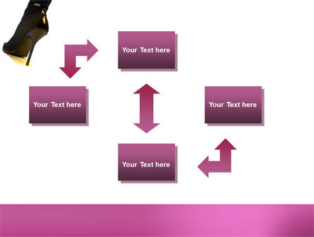 Female Fashion Shoes PowerPoint Template Slide 4