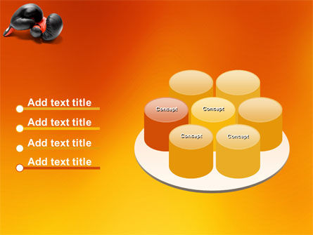 Boxing Gloves PowerPoint Template Slide 12