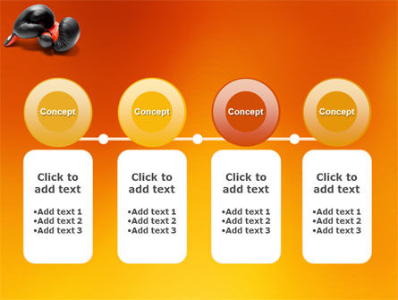 Boxing Gloves PowerPoint Template Slide 5