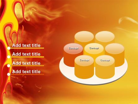 Fire Flame PowerPoint Template Slide 12