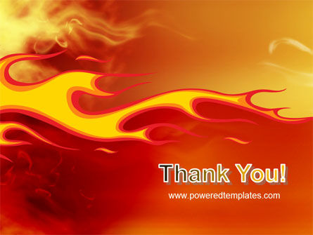 Fire Flame PowerPoint Template Slide 20