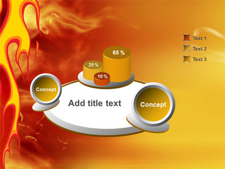 Fire Flame PowerPoint Template Slide 6