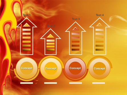 Fire Flame PowerPoint Template Slide 7