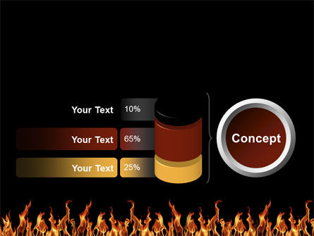 Fire PowerPoint Template Slide 11