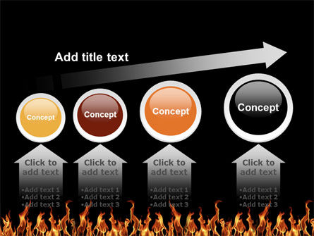 Fire PowerPoint Template Slide 13