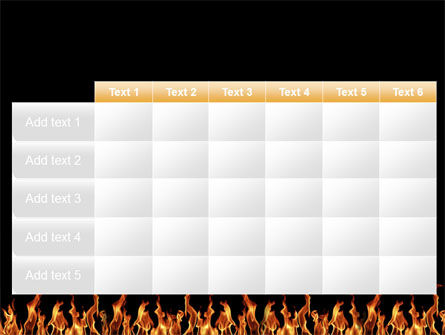 Fire PowerPoint Template Slide 15