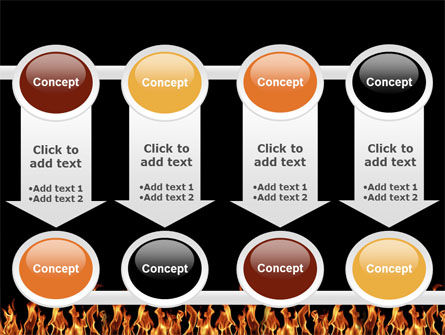 Fire PowerPoint Template Slide 18