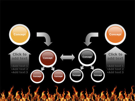 Fire PowerPoint Template Slide 19