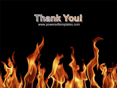 Fire PowerPoint Template Slide 20