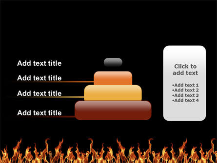 Fire PowerPoint Template Slide 8