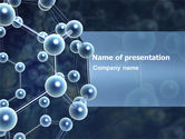Technology and Science: Molecular Structure PowerPoint Template #03327