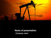 Gas+furnace: Oil Producer PowerPoint Template #03444