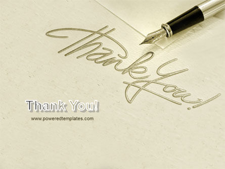 Thank You PowerPoint Template Slide 20