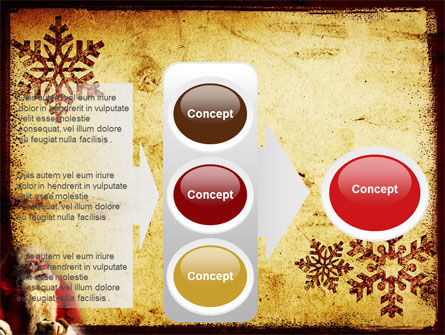 Free Santa Clause PowerPoint Template Slide 11