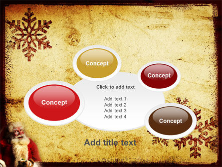 Free Santa Clause PowerPoint Template Slide 16