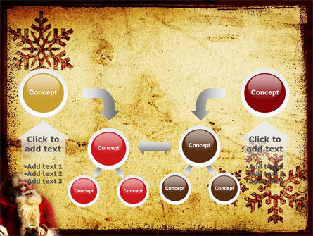 Free Santa Clause PowerPoint Template Slide 19
