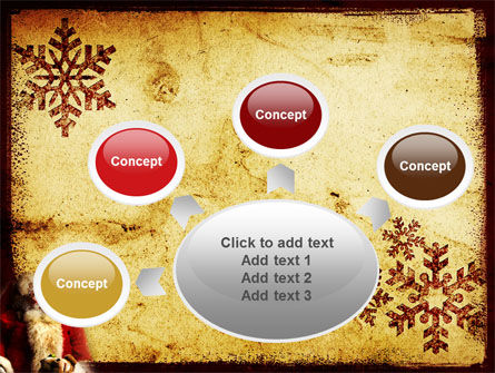Free Santa Clause PowerPoint Template Slide 7
