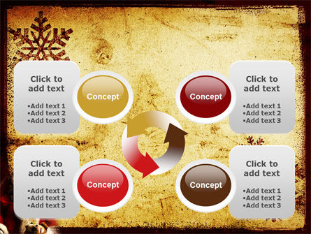 Free Santa Clause PowerPoint Template Slide 9