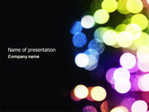 Northern lights: Bokeh PowerPoint Template #04263