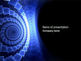 Abstract/Textures: Free Helical PowerPoint Template #04418