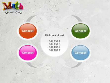 Math Addition PowerPoint Template Slide 6