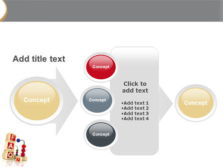 FAQ PowerPoint Template Slide 17