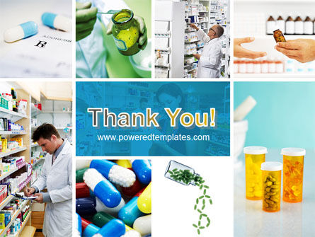Pharmacy Collage Powerpoint Template Backgrounds 04889