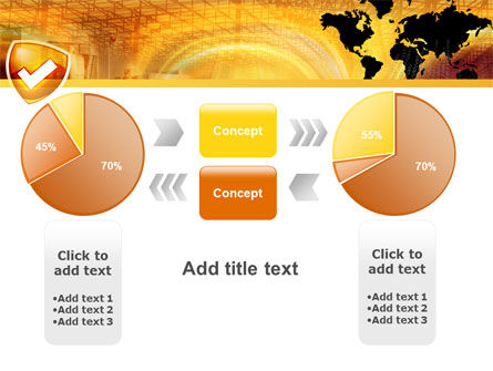 Shield PowerPoint Template Slide 16