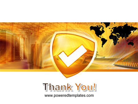 Shield PowerPoint Template Slide 20