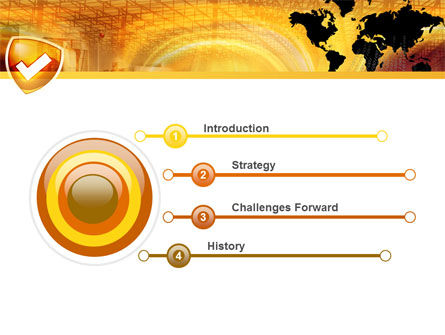 Shield PowerPoint Template Slide 3