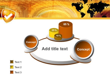 Shield PowerPoint Template Slide 6