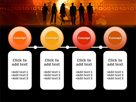 success story powerpoint template backgrounds 05060
