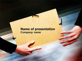 Business Concepts: File Transfer PowerPoint Template #05238