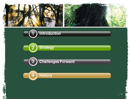 Jungle PowerPoint Template Slide 3