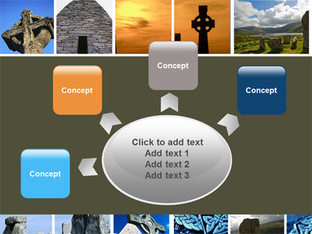 Celtic Revival PowerPoint Template Slide 7