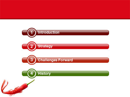 Chili Pepper PowerPoint Template Slide 3