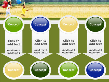 Outdoor Play PowerPoint Template Slide 18