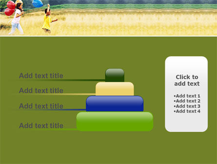 Outdoor Play PowerPoint Template Slide 8