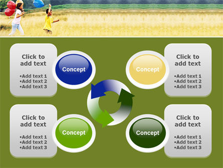 Outdoor Play PowerPoint Template Slide 9