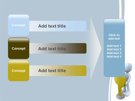 Unlock PowerPoint Template Slide 12