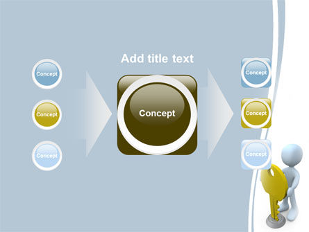 Unlock PowerPoint Template Slide 17