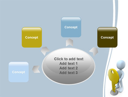Unlock PowerPoint Template Slide 7