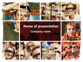Education & Training: Chemistry Lesson PowerPoint Template #06292