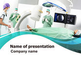 Medical: Preparing Of Operating Room PowerPoint Template #06396