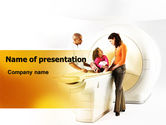 Medical: Tomography Exam PowerPoint Template #06447