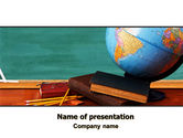 Education & Training: Geography Class PowerPoint Template #06767