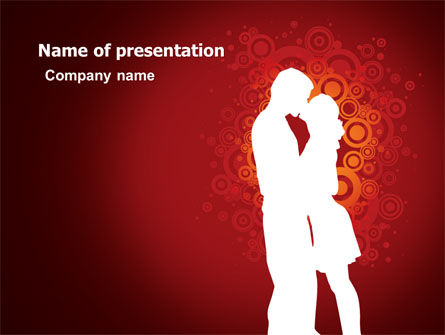 romance powerpoint template backgrounds 06930