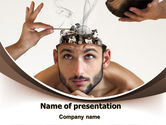 Mental+health: Mind Mending PowerPoint Template #07004